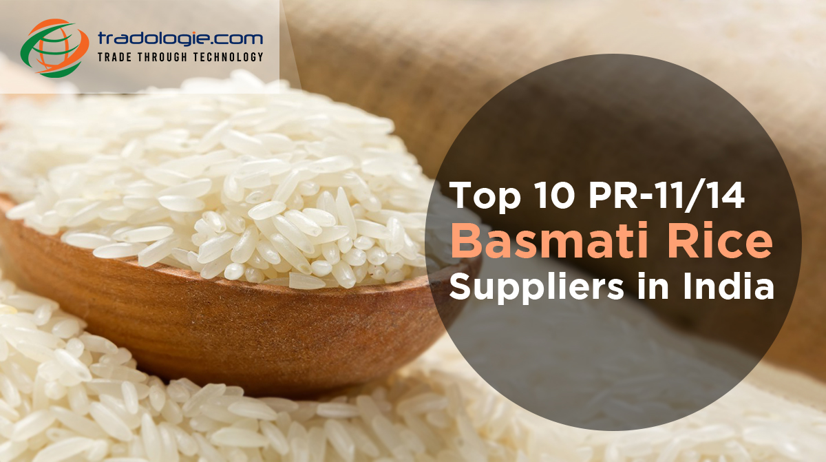 Top 10 PR-11/14 Basmati Rice Suppliers in India