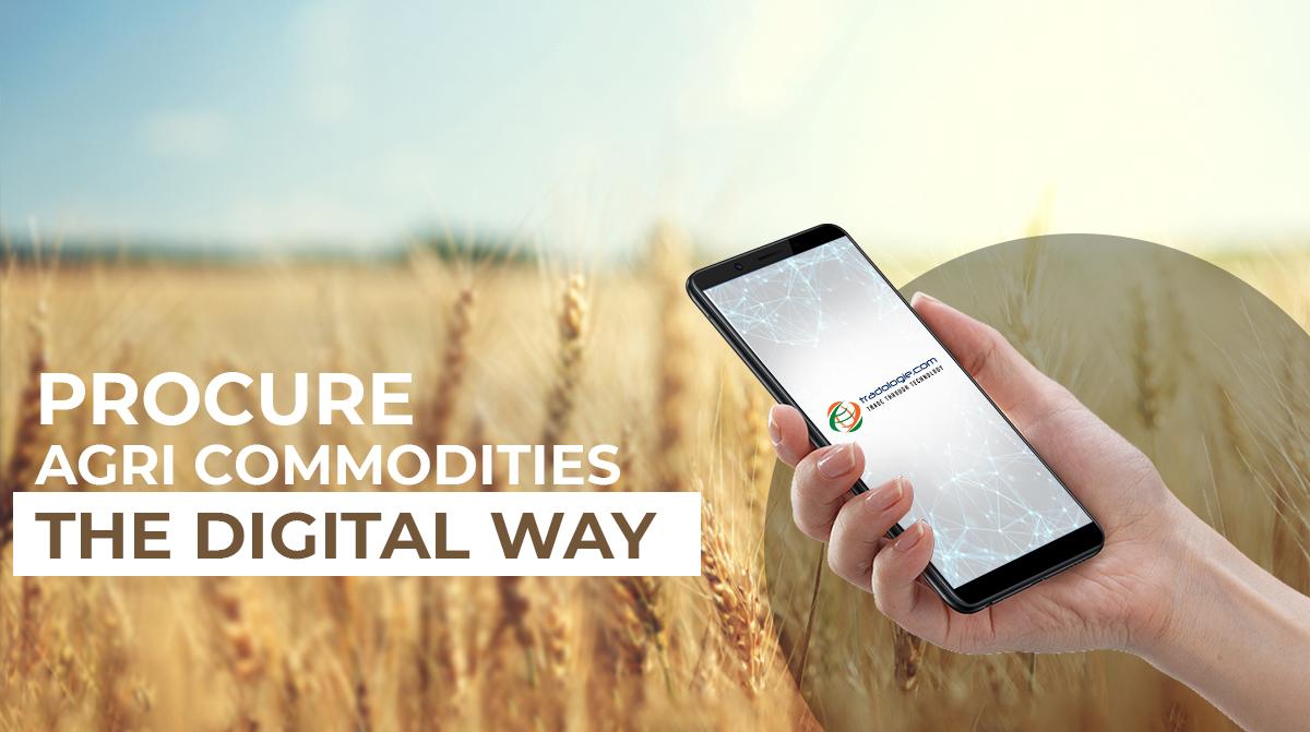 Procure Agri Commodities - The Digital Way